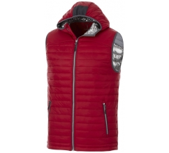 Junction geïsoleerde heren bodywarmer bedrukken